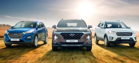 Кроссоверы Hyundai с выгодой до 300 000 ₽.
